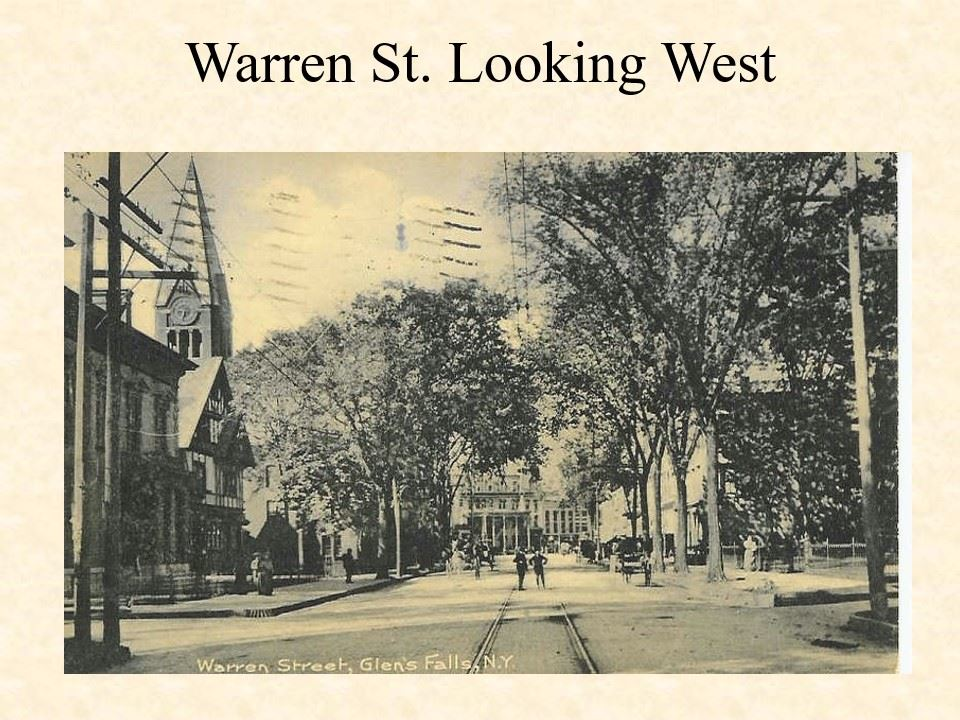 Warren Street Looking West